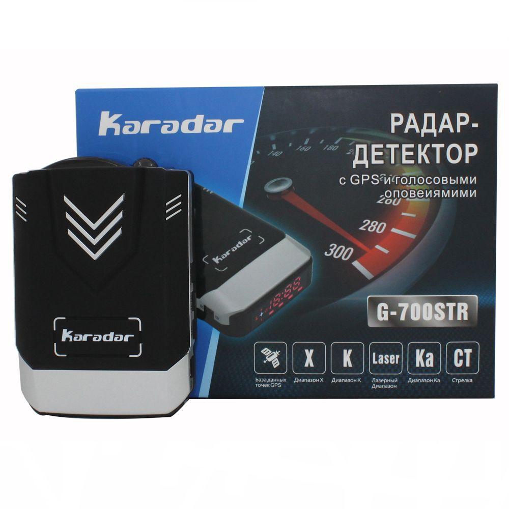 Update Karadar GPS Car-detector 2017 anti car detector radar car styling full band detection laser strelka radar detector