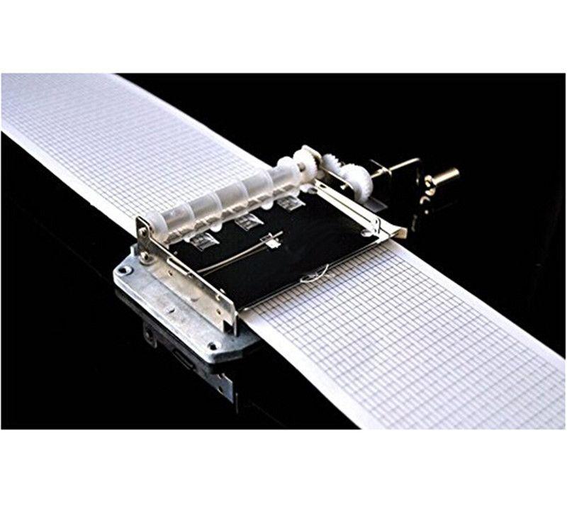 Diy spieluhr melodie handkurbel 30 notizen musikinstrument set 30 bewegung mit 20 stücke blank hinweis weihnachtsgeschenk