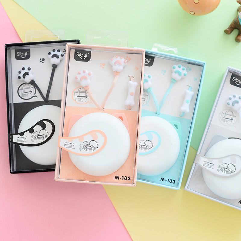 Sibila Caramelo Caliente Lindo Gato de Dibujos Animados Auriculares Auriculares con Micrófono fone de ouvido Auriculares para Niños Chicas para teléfonos inteligentes