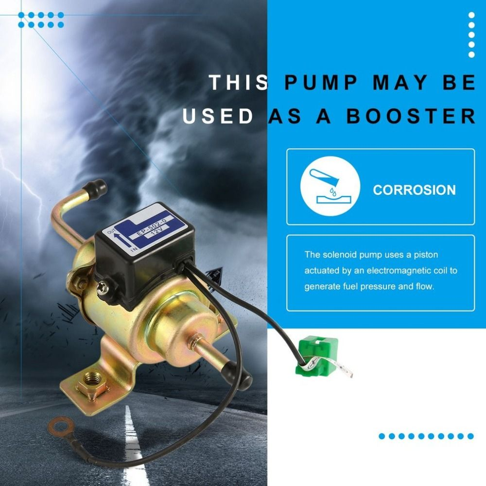 12V Auto Car Gas Diesel Electric Fuel Pump 5PSI External Electronic Pump EP500 Low Pressure for TOYOTA for NISSAN for Mazda Hot