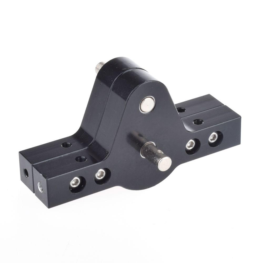 RC Crawler 1:10 Noir CNC En Aluminium Boîte De Transfert Pour D90 SCX10 RC4WD Robots RC Camions D90 Composants