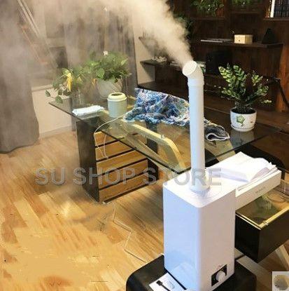 Industrielle Luft ultraschall-luftbefeuchter Stumm Kommerziellen Supermarkt Gemüse Nebel Maker 11L Fogger Spray Anion Luftbefeuchter