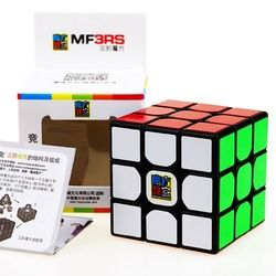 Moyu Mofangjiaoshi 3X3X3 MF3RS Magic Cube Puzzle Tanpa Stiker Profesional Gelisah Kecepatan Kubus Magico Mainan Pendidikan untuk anak-anak