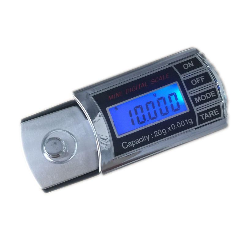 20g 0.001g LCD numérique milligramme Balance de poche Mini électronique diamant bijoux balances précis Carat Balance de poids avec boîte