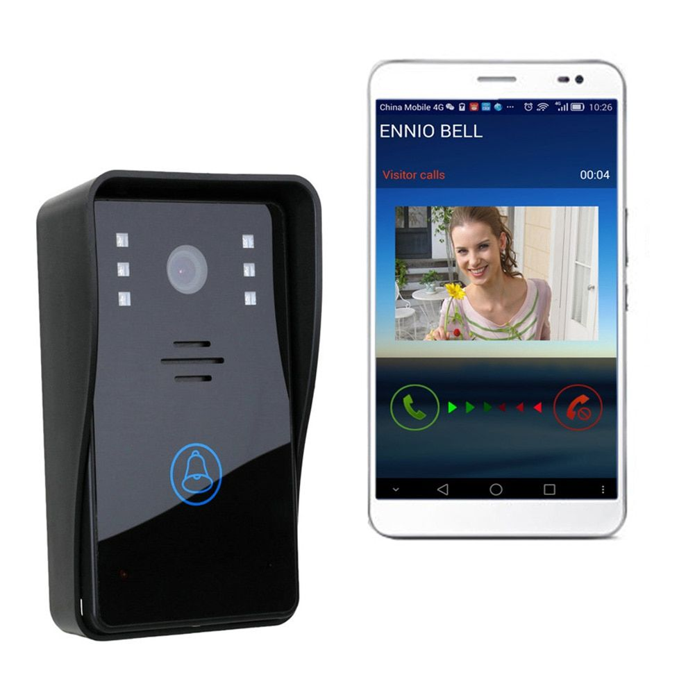 Smart Wifi Remote Rainproof Video Camera Door Phone Intercom Wireless Doorbell Camera Support Android & IOS with IR night vision