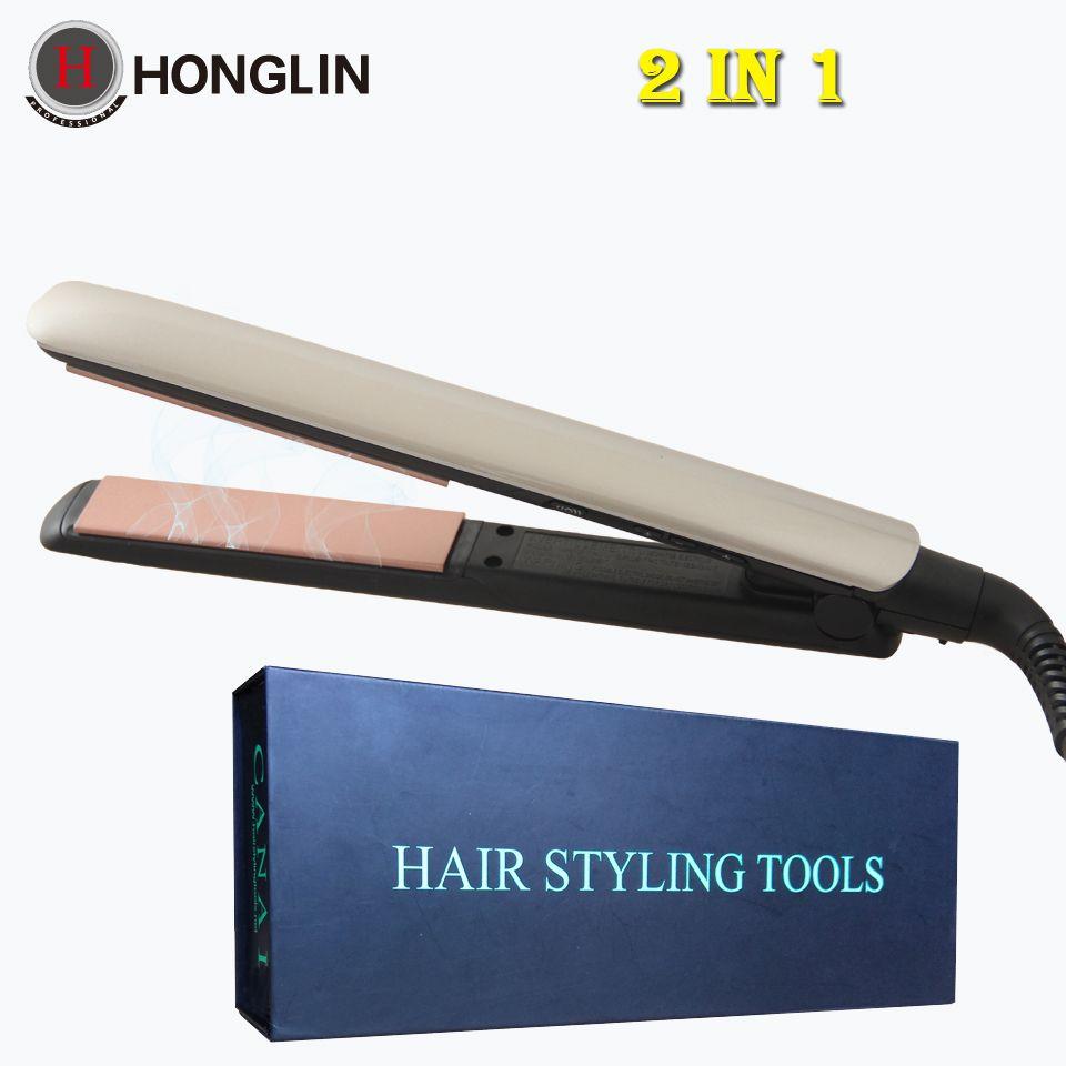 Straightening Irons Temperature Styling Tools Professional Hair Straightener Rapid Heating Flat Iron Tourmaline Ceramic Plate