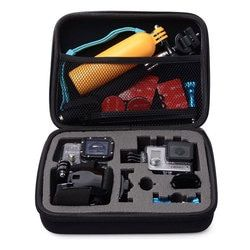 Black Medium Size Travel Storage Collection Bag Case for GoPro Hero 5 3 3+ 4 SJ4000 Xiaomi Yi 4K EKEN Action Camera Accessories