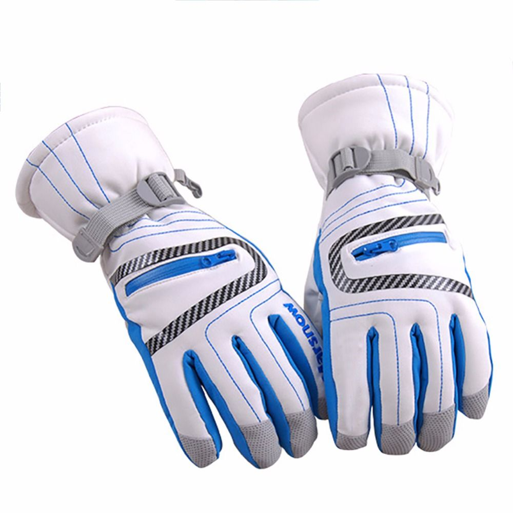 High Quality Winter Warm Ski Gloves Children Adult Outdoor Snowboarding Sports Waterproof Windproof Snow Wrist Skiing Gloves