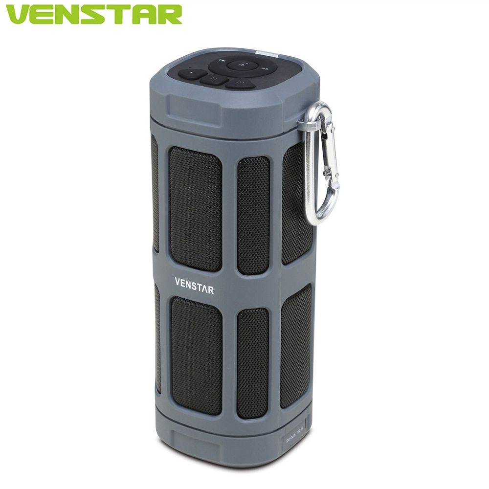 VENSTAR S400 Portable Bluetooth Speaker Column 16W Subwoofer Driver Passive Radiator <font><b>6000mAh</b></font> Battery for Outdoor Bicycle Sports