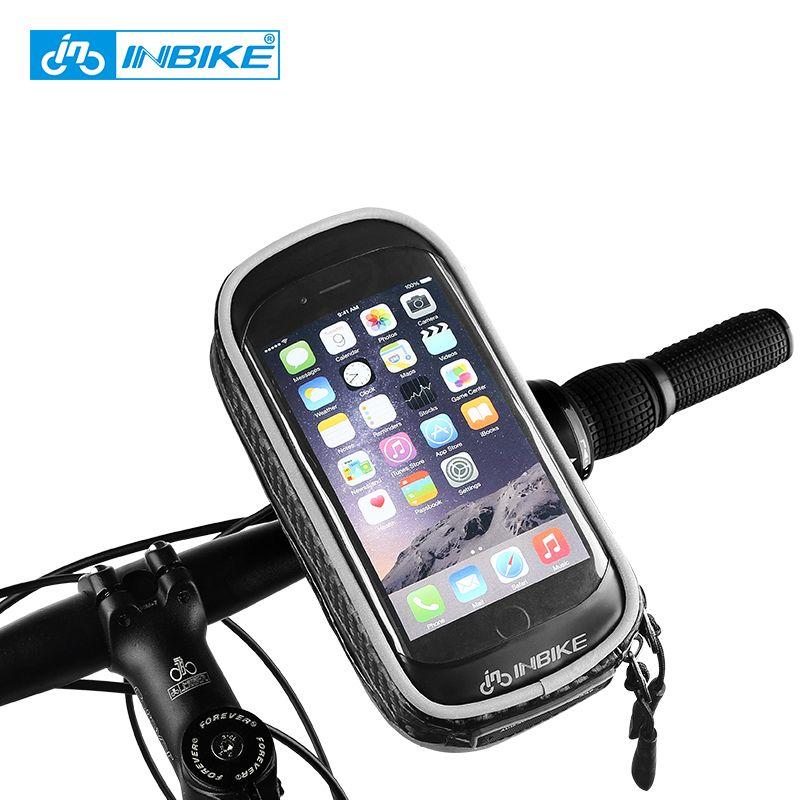INBIKE 2018 Rainproof Front Zipper Bike Bag MTB Mountain Cycle Touch Screen Phone Bags Waterproof GPS Cycling Pouch Panniers PX5