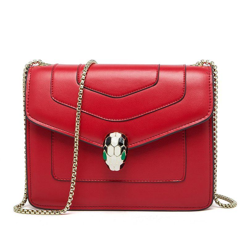 2017 High grade women's Genuine Leather chains bag ladies Shoulder Bags women messenger bags female Luxury Flap bolsa feminina