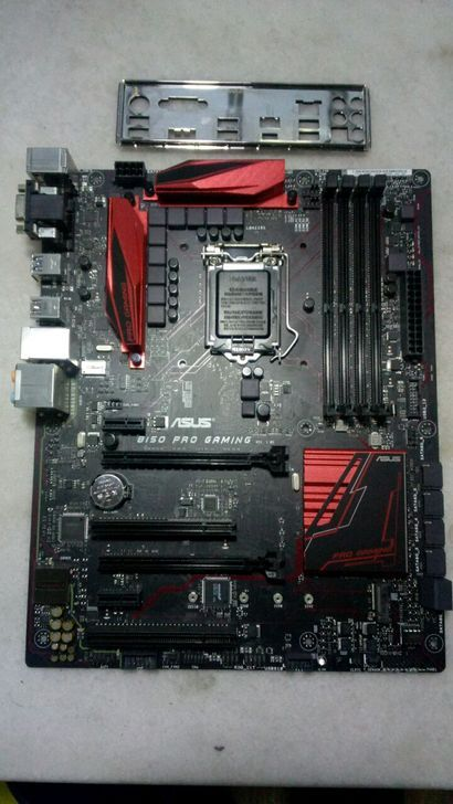 B150 PRO GAMING D4 B150 game board acoustic radar LGA1151