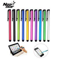 10 шт./лот емкостный Сенсорный экран Стилусы ручка для IPad Air Mini 2 3 4 для iphone 4S 5 6 7 Samsung универсальный Планшеты ПК смартфон