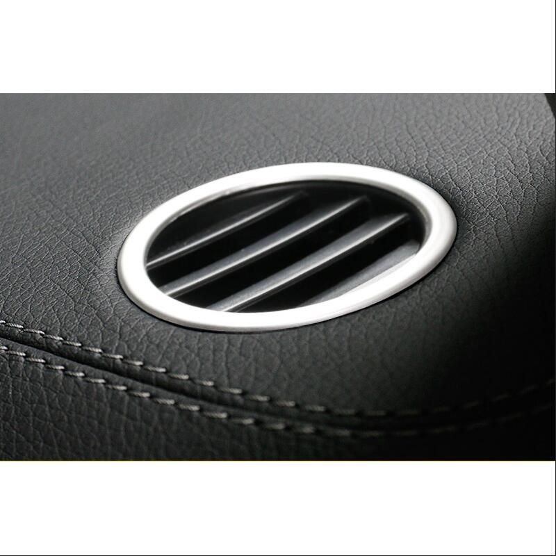 2PCS car styling for Mercedes benz ML GLE W166 coupe C292 GLS dashboard air conditioning vent cover trim accessories