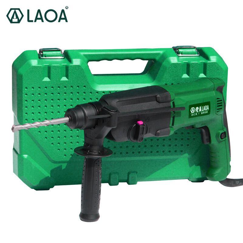 LAOA Brand 800W Impact Electric Drill Rotary Hammers Taladro Percutor Darbeli Matkap Electric Pick For Tearing and Decoration