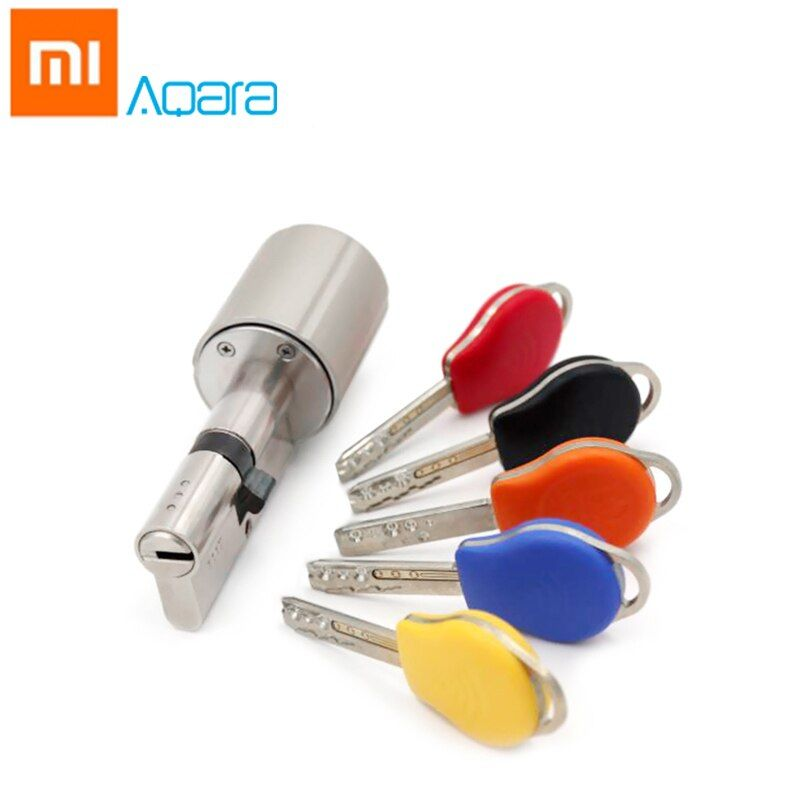 Original Xiaomi Aqara Smart Lock Door Core Mijia Home Security Practical Anti-theft Door Lock 45mm Security Lock Core with Key