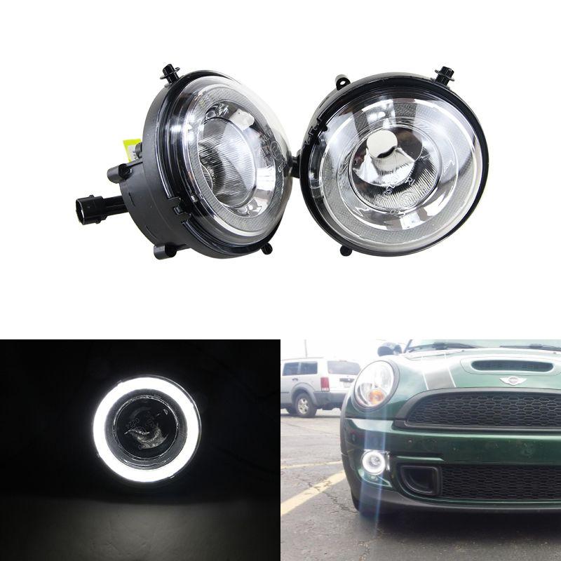 Led DRL Nebelscheinwerfer Für Mini Cooper Daylights E4 CE Led-Tag Tagfahrlicht Lampe Für R55 R56 R57 R58 R59 R60 R61 Ultra weiß