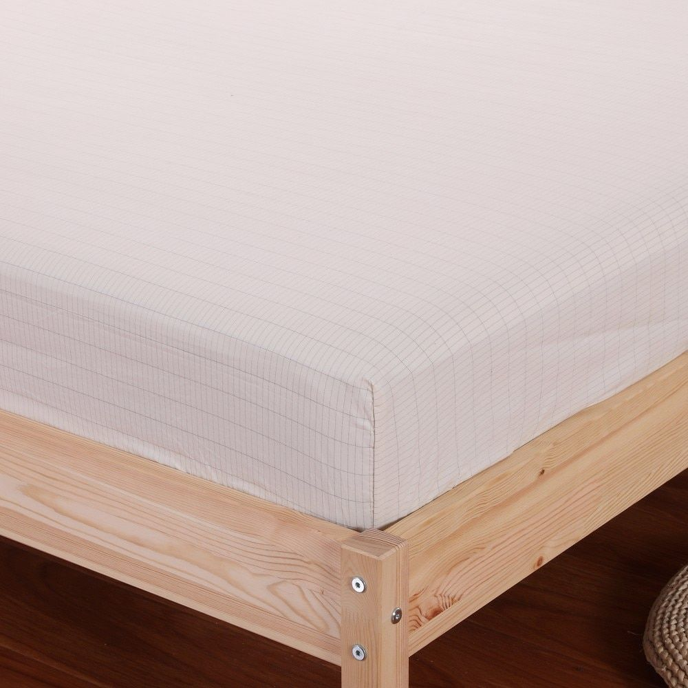 Earthing Fitted Sheet (153x 203cm)  Conductive fabric  Grounded kits For health & EMF Protection Queen