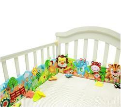 Bebé juguetes de peluche Ruffle granja jirafa León Multi-touch de tela decorativa de color cama Ruffle juguetes educativos 20%