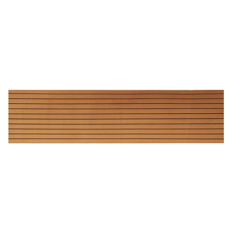 550x2400x5mm Brown and Black Surfing Marine RV Flooring Faux Teak EVA Foam Boat Decking Sheet Foam Floor Mat