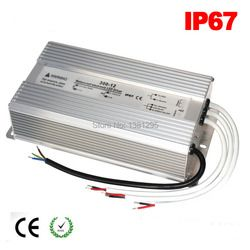 DC 12 V 24 V LED Pilote 100 W 120 W 150 W 200 W 250 W 300 W étanche IP67 12 Volts alimentation LED transformateur alimentation 5A 10A 15A