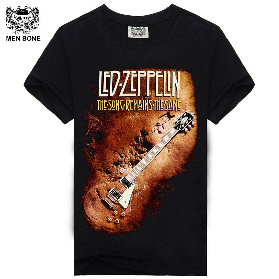 [Hommes bone] nouveauté heavy metal rock band Rock Band imprimer t-shirt à manches courtes col rond hip hop décontracté hommes