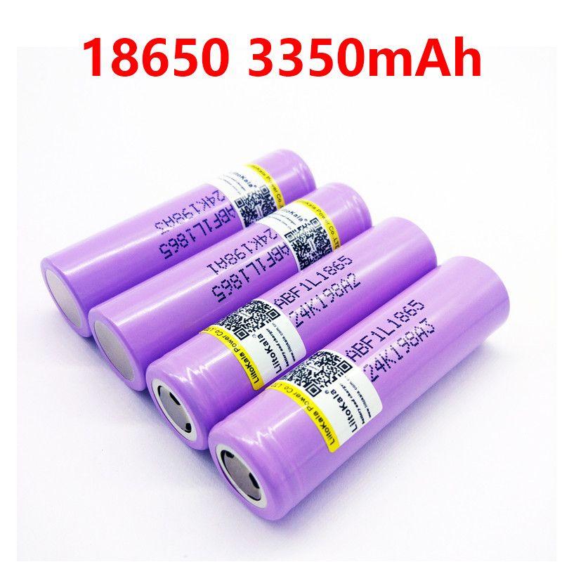 Liitokala lii-F1L original 3,6 v 18650 INR18650 F1L 3000 mah 3350 mah 3400 mah 4,2 v cut akku für lg