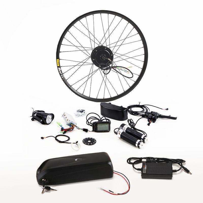 Neue Ankunft Elektrische Fahrrad Kit 36 v 8/10/13AH Wasserkocher Batterie Ebike Conversion Kit Mit 350 watt motor bicicleta Kostenloser versand bike