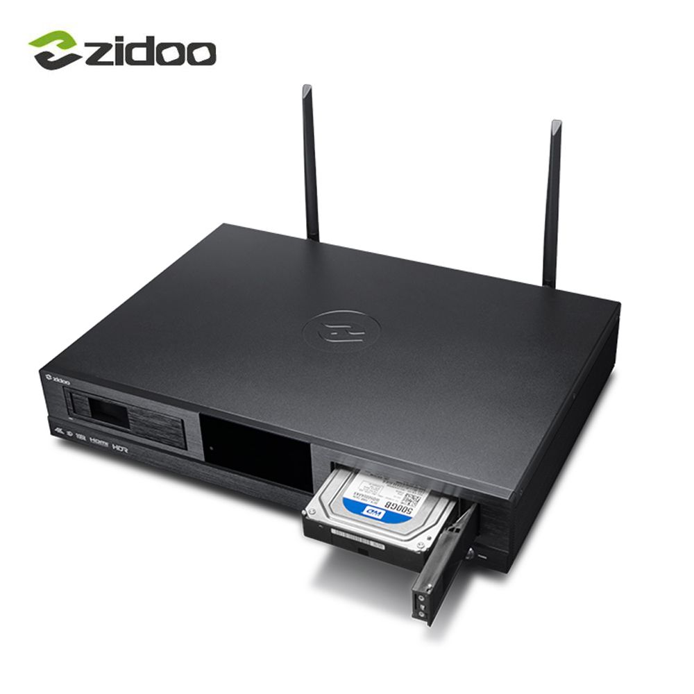 ZIDOO X20 TV BOX 2GB DDR4 Set top box ZIDOO X20 HD player 4K HDR Dual HDMI audio and video separation Dual hard disk storage top