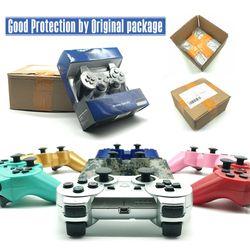 2.4G Sans Fil Bluetooth Contrôleur de Jeu Pour sony playstation 3 PS3 Controle Joystick Gamepad Contrôleur Avec la Boîte Paquet Cadeaux