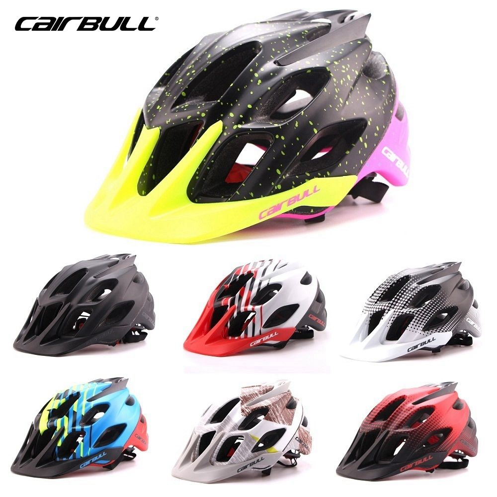 CAIRBULL New Bike Cycling Helmet Ultralight Mountain Road Bicycle Helmet 56-62cm 7 Colors Casco Ciclismo Bike Helmet