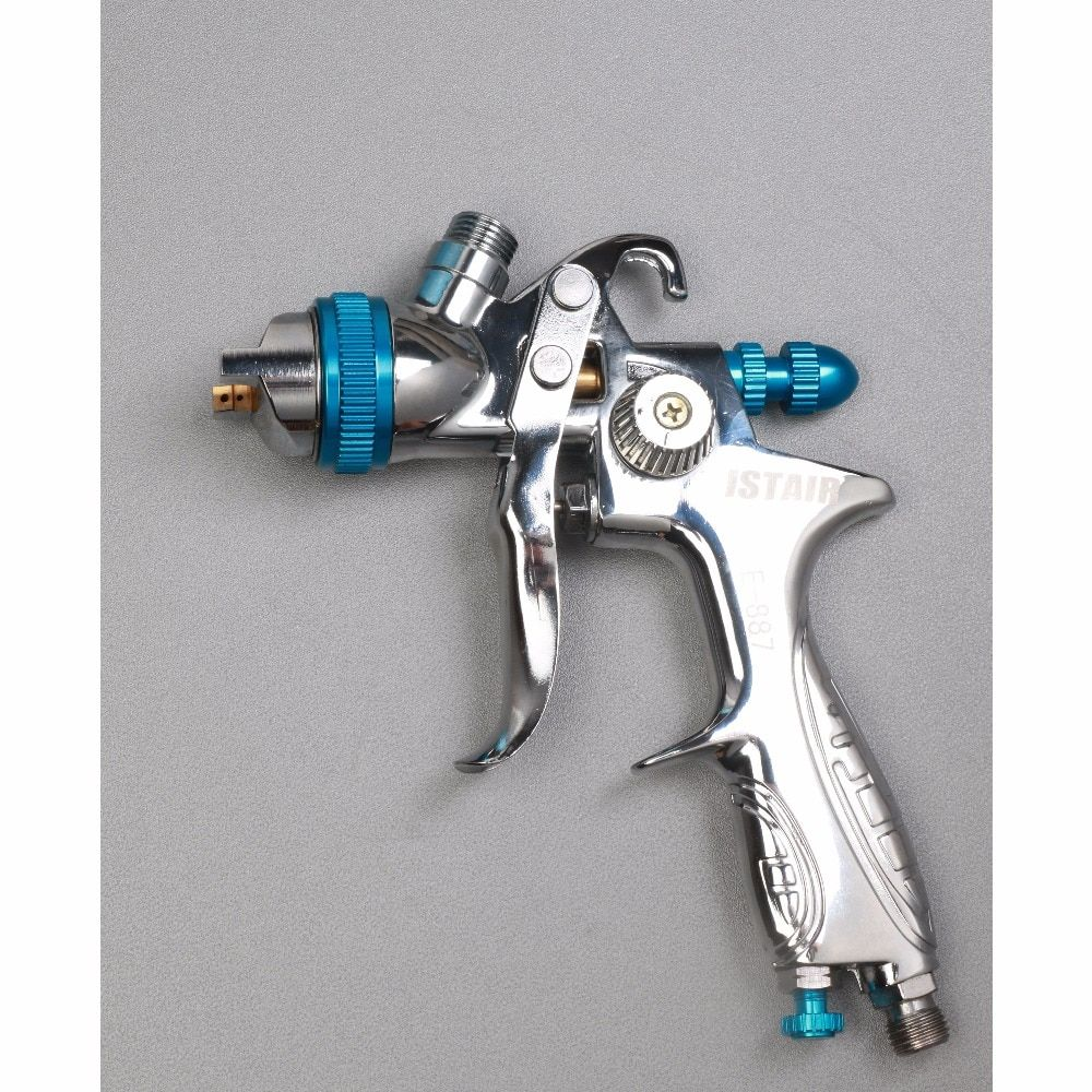 Spray guns for painting cars E887G Suitable for spraying primer Gravity Feed with 1.4mm nozzle 600ml Pot