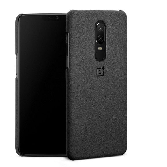 100% Original sandstone case for Oneplus 6 official phone protective shell