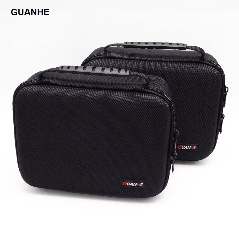 GUANHE 3.5 inch Large Cable <font><b>Organizer</b></font> Bag Carry Case can put 2 Pcs HDD USB Flash Drive Power Bank