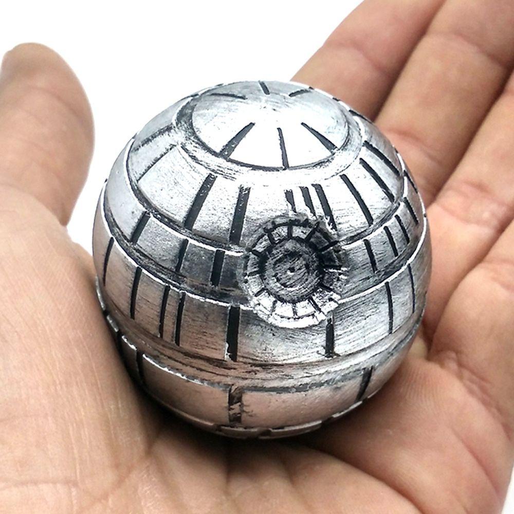 Star Wars mort étoile herbe tabac broyeur métal plastique fumer broyeurs broyeur 3 couches diamètre 50mm