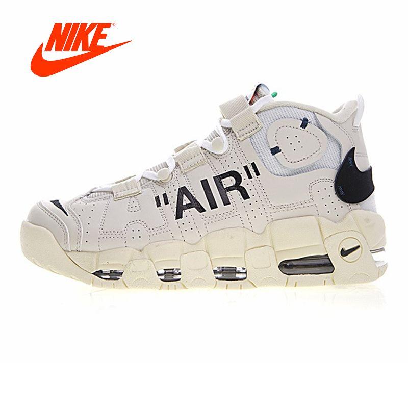 Original Neue Ankunft Authentic Nike Air Mehr Uptempo Männer Basketball Schuhe Turnschuhe Sport Outdoor Gute Qualität