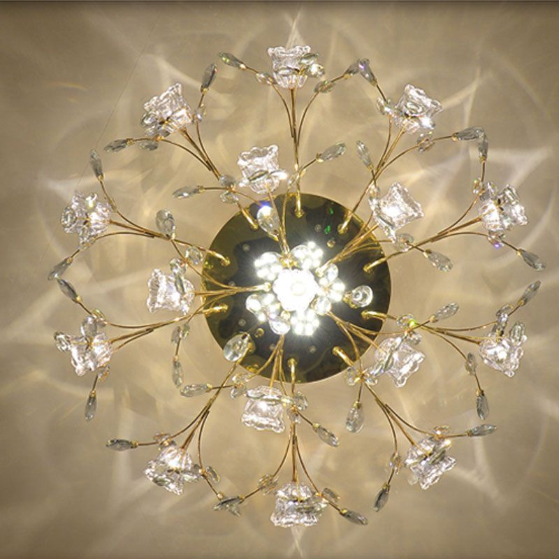 K9 Kristall Deckenleuchte Europäischen stil moderne schlafzimmer Dekoration Innenbeleuchtung Hause Led-leuchten für Wohnzimmer Deckenleuchten