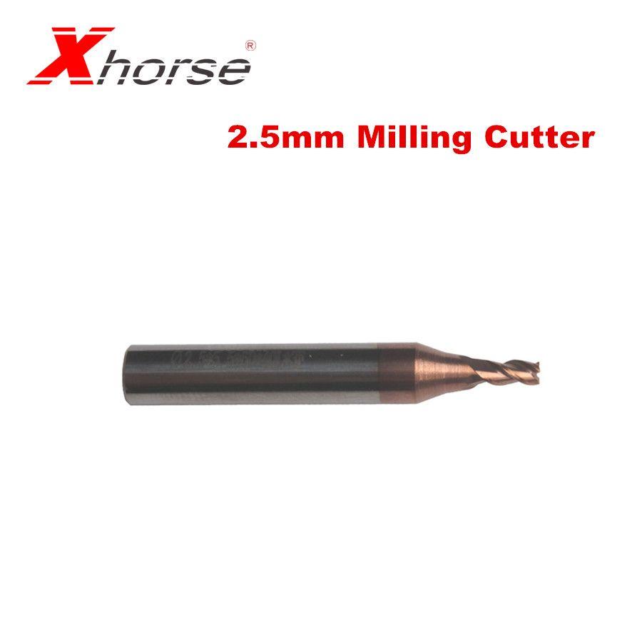 Xhorse 2,5mm Fräser für IKEYCUTTER CONDOR XC-007 XC-002 und CONDOR XC-MINI Schlüssel Schneiden Maschine
