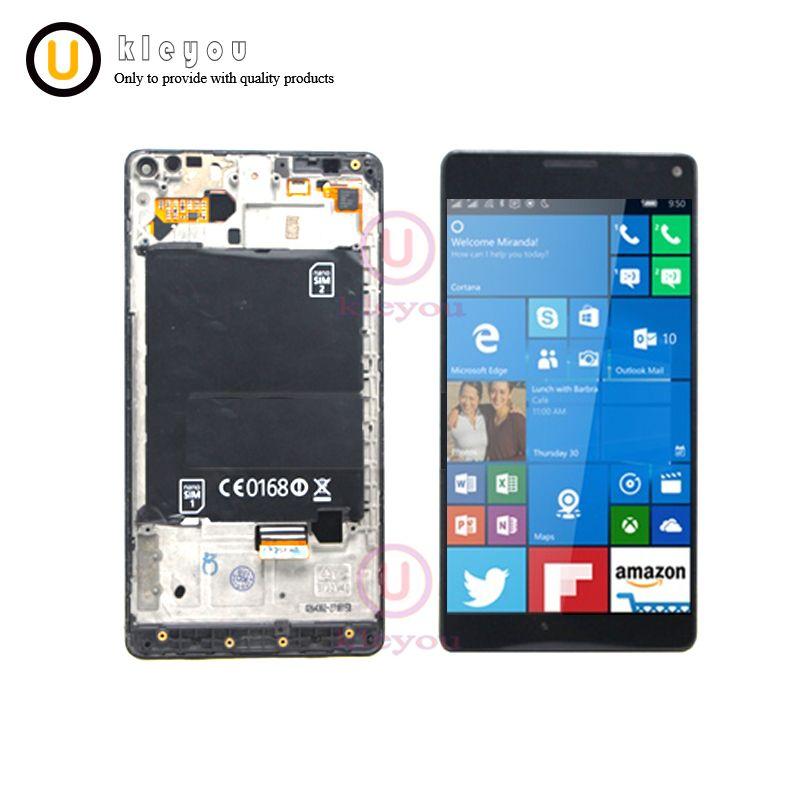 100% getestet Für Nokia Lumia 950XL LCD Display Touchscreen Digitizer Sensor Assembly Ersatz 5,7 für Nokia 950 XL LCD