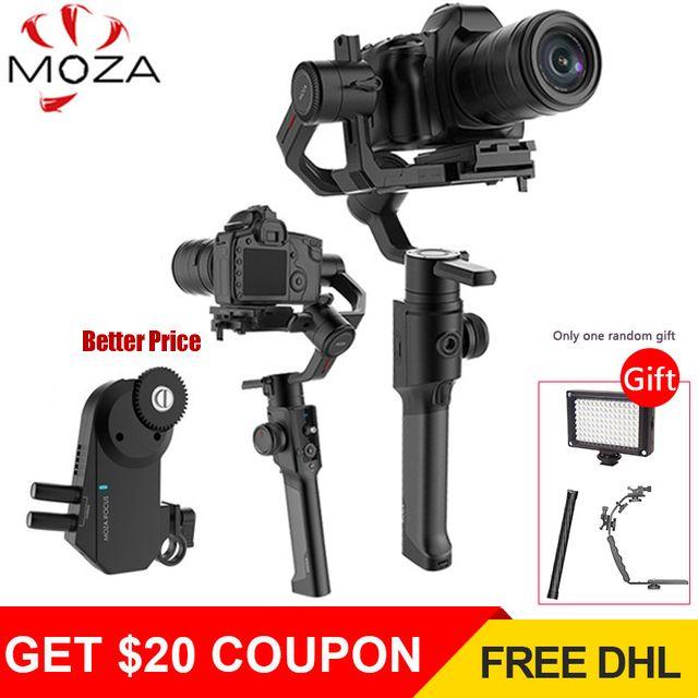 Gudsen Moza Air 2 DSLR Camera Stabilizer 3-Axis Handheld Gimbal Steadycam for Sony Canon Nikon GH4 PK DJI Ronin S Moza Air 2