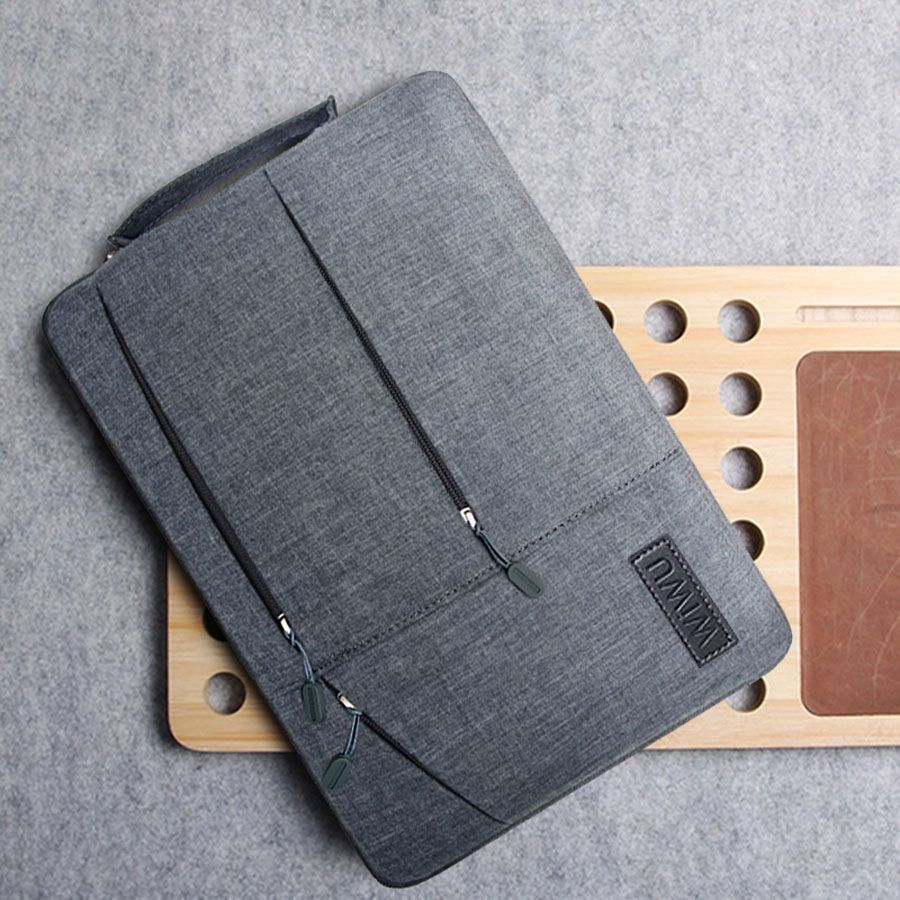 2018 Multi Poches Sac pour MacBook Pro 13 15 Cas pour Xiaomi Air 13 Boîtier Étanche Pour Ordinateur Portable pour Lenovo 14 Sac pour MacBook Air 13