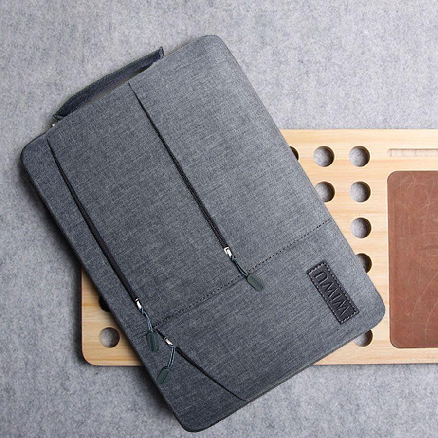 2019 Multi-poches Sac pour MacBook Pro 13 15 pour Xiaomi Air 13 Ordinateur Portable Étanche étui pour lenovo 14 Sac pour MacBook Air 13