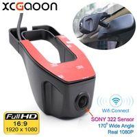 XCGaoon Wi Fi 170 градусов Автомобильный dvr видео регистраторы видеокамера тире камера 1080 P Ночь Версия Novatek 96655 применение SONY 322 сенсор