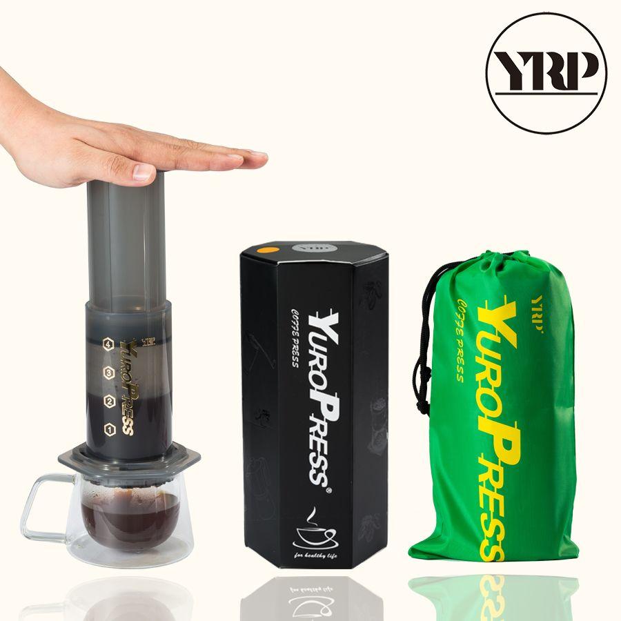 YRP YuroPress Französisch Presse Espresso Tragbare Kaffee Maker Haushalt DIY Kaffee Topf Luft Presse Drip Kaffee Maschine Filter Papier
