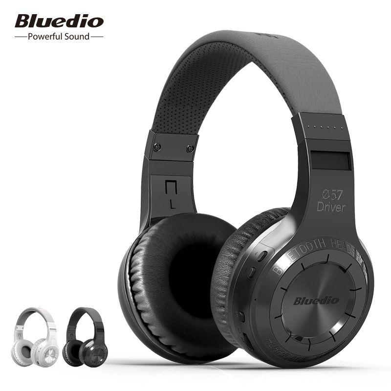 Casque Bluetooth sans fil Bluedio HT et casque sans fil avec Microphone pour écouteurs de musique de téléphone portable