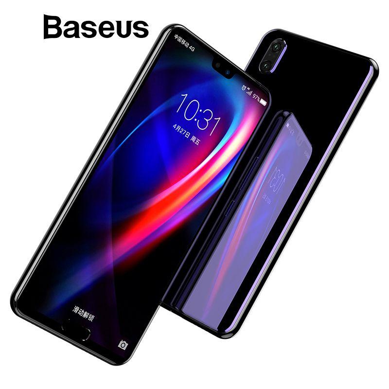 Baseus 0,3mm 3D Oberfläche Vollständige Abdeckung Screen Protector Für Huawei P20 P20 Pro Gehärtetem Glas 9 H Schutz Glas für Huawei P20