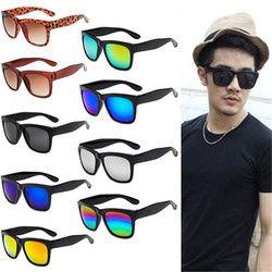 Vintage gafas de sol mujeres hombres marca diseñador mujer hombre Retro gafas de sol gafas de espejo