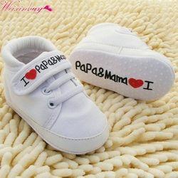 Niño recién nacido Zapatos bebé infantil niños niño Soft sole zapatillas 0-18months