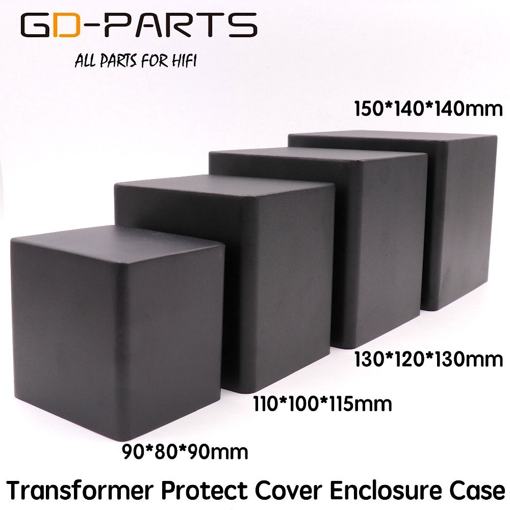 GD-PARTS Tube Audio AMP Triode Transformer Protect Cover Iron Case Enclosure 90*80*90mm 110*100*115mm 130*120*130mm 150*140*140