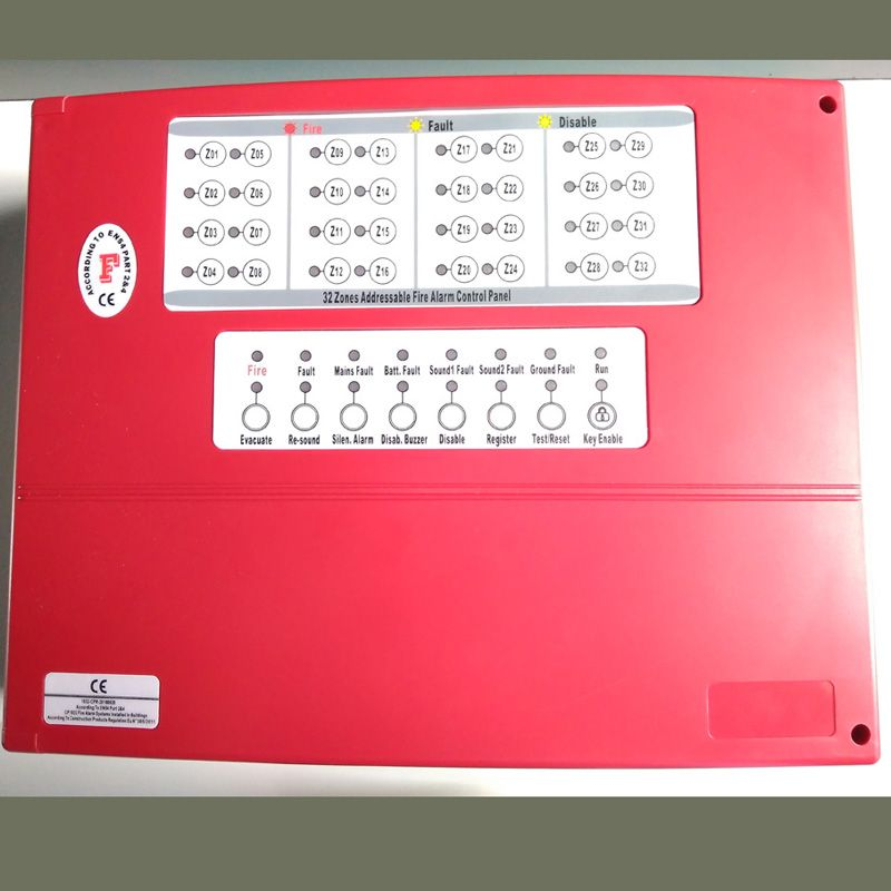 new good rice 16 zone Fire Alarm Control Panel Conventional panel FACP detector control system can work 400 detectors